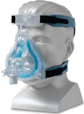 Comfortgel Blue Full Face Cpap Mask With Headgear Mrc