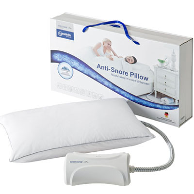 The goodnite™ Anti-Snore Pillow with Smart Technology